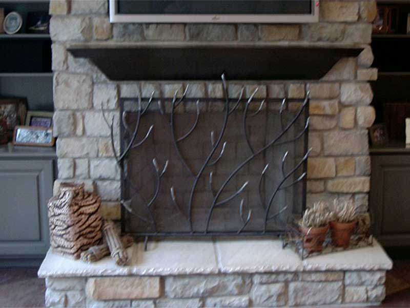 Milford-Fireplace-Screen-and-Mantel