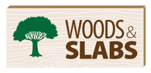Woods and Slabs Company Logo